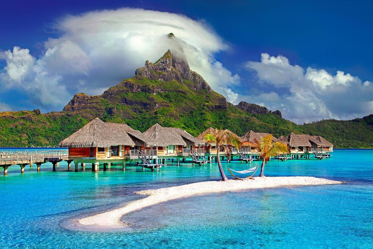 億り人とボラボラ島